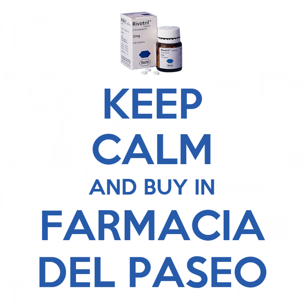 KEEP CALM AND BUY IN FARMACIA DEL PASEO