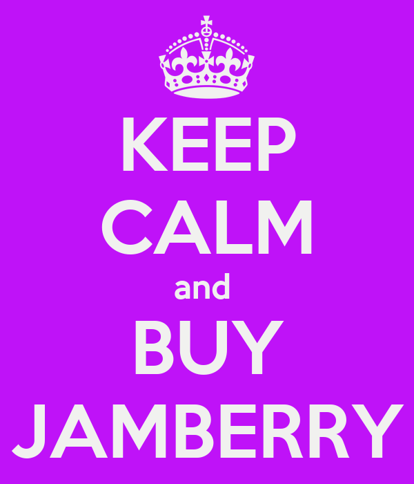 KEEP CALM and  BUY JAMBERRY