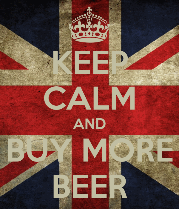 KEEP CALM AND BUY MORE BEER