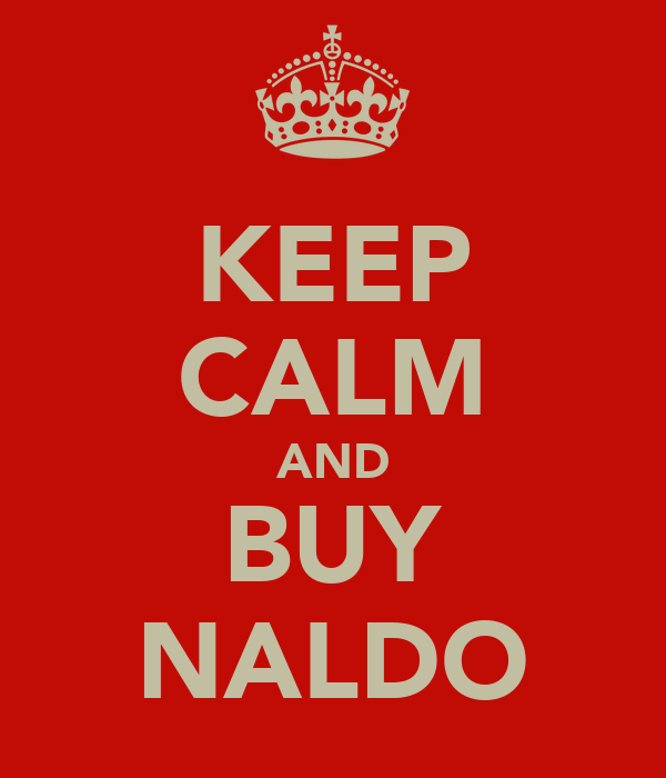 KEEP CALM AND BUY NALDO