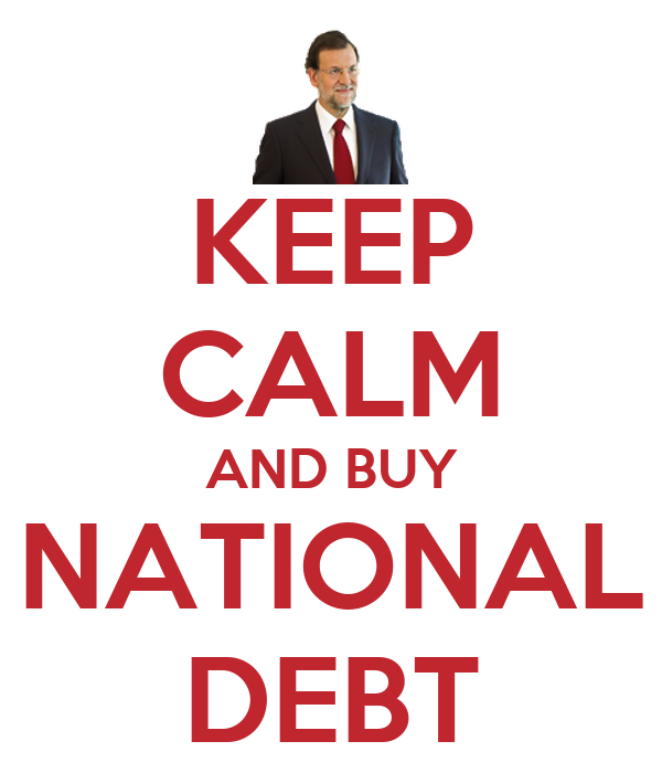KEEP CALM AND BUY NATIONAL DEBT