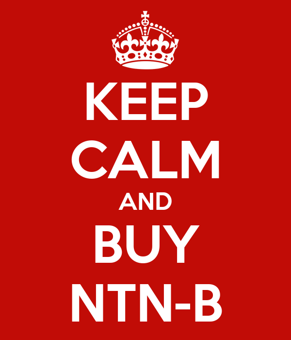 KEEP CALM AND BUY NTN-B