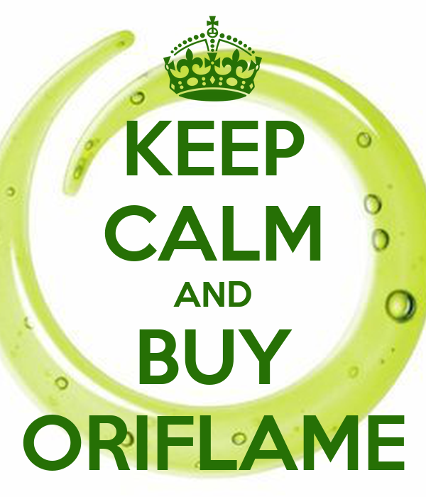 KEEP CALM AND BUY ORIFLAME