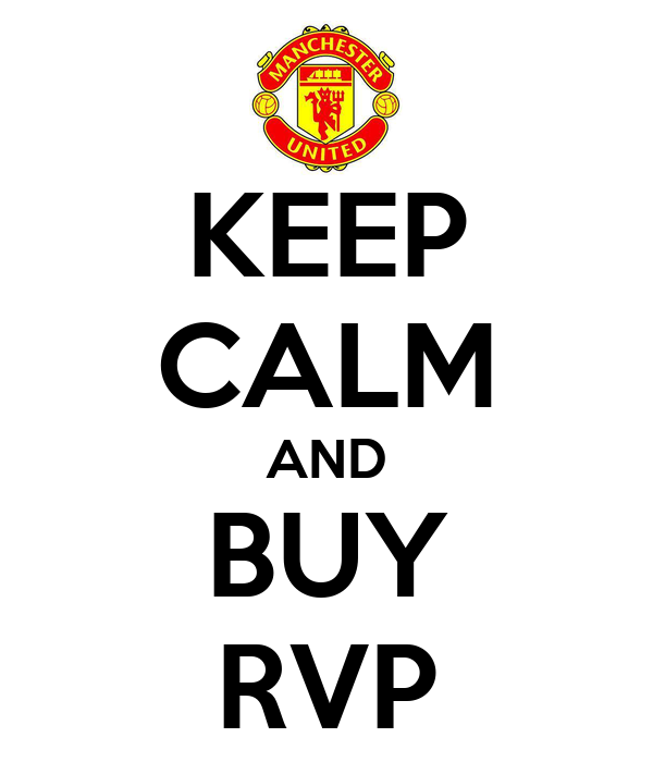 KEEP CALM AND BUY RVP
