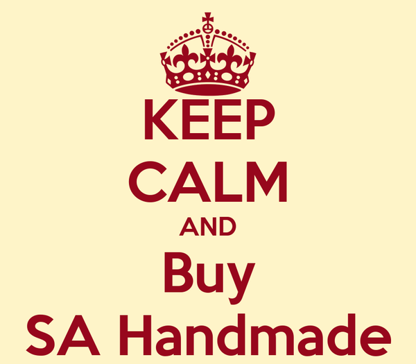 KEEP CALM AND Buy SA Handmade