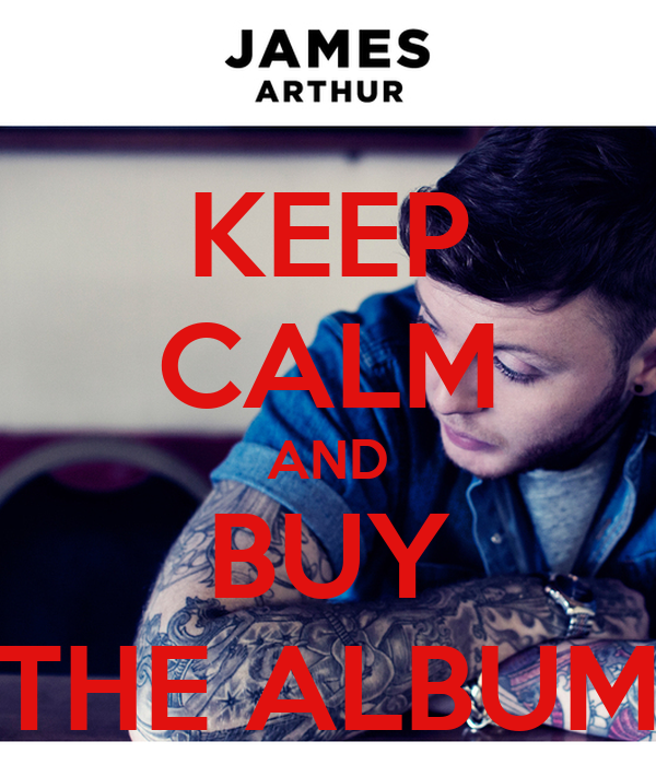 KEEP CALM AND BUY THE ALBUM