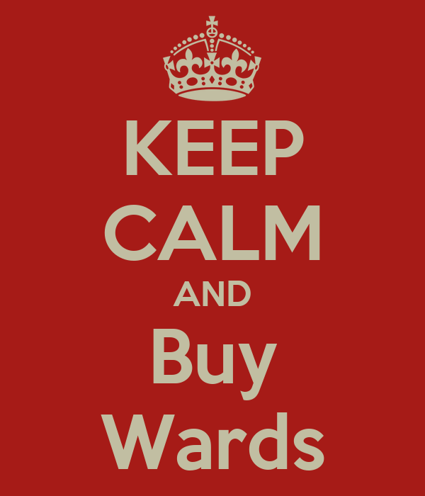 KEEP CALM AND Buy Wards