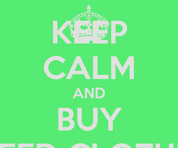 KEEP CALM AND BUY WEED CLOTHES