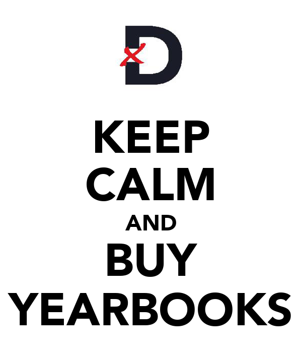 KEEP CALM AND BUY YEARBOOKS