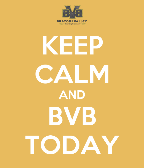 KEEP CALM AND BVB TODAY