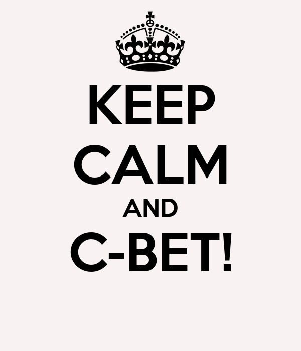 KEEP CALM AND C-BET!