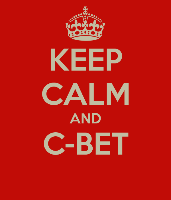 KEEP CALM AND C-BET