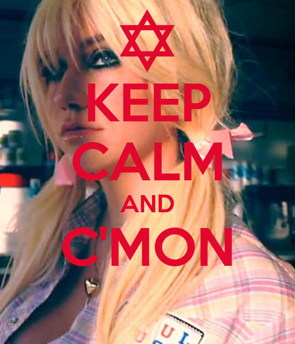 KEEP CALM AND C'MON