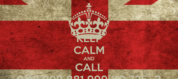 KEEP CALM AND CALL 0118 999 881 999 119 725...3
