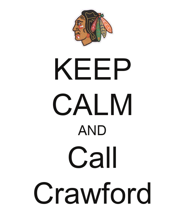 KEEP CALM AND Call Crawford