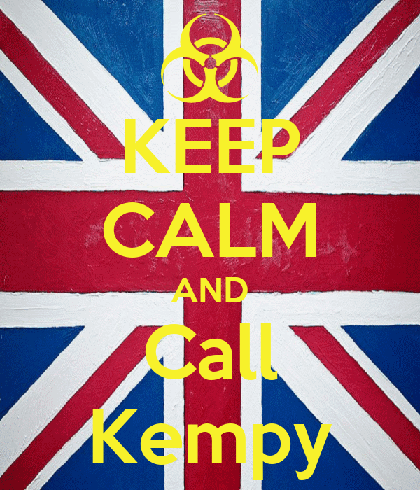 KEEP CALM AND Call Kempy