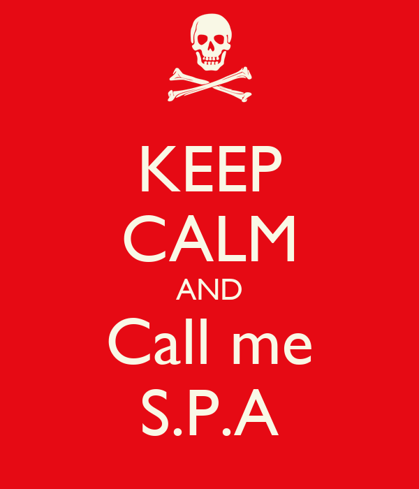 KEEP CALM AND Call me S.P.A