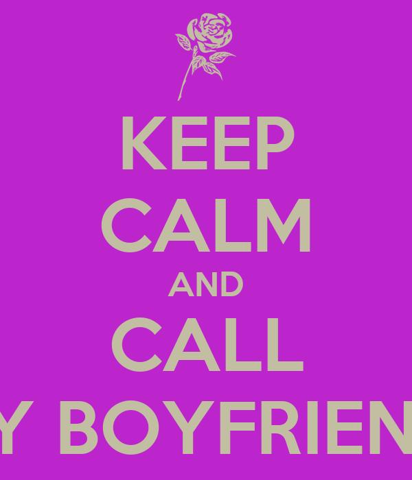 What to call my boyfriend