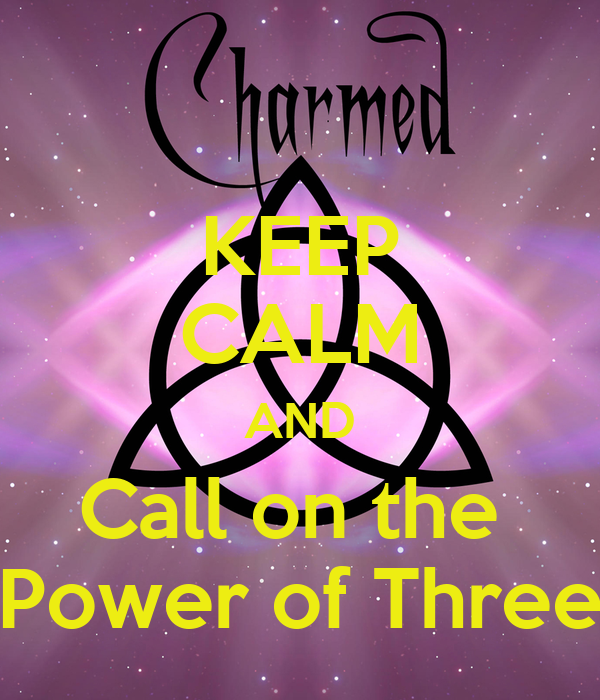 KEEP CALM AND Call on the  Power of Three