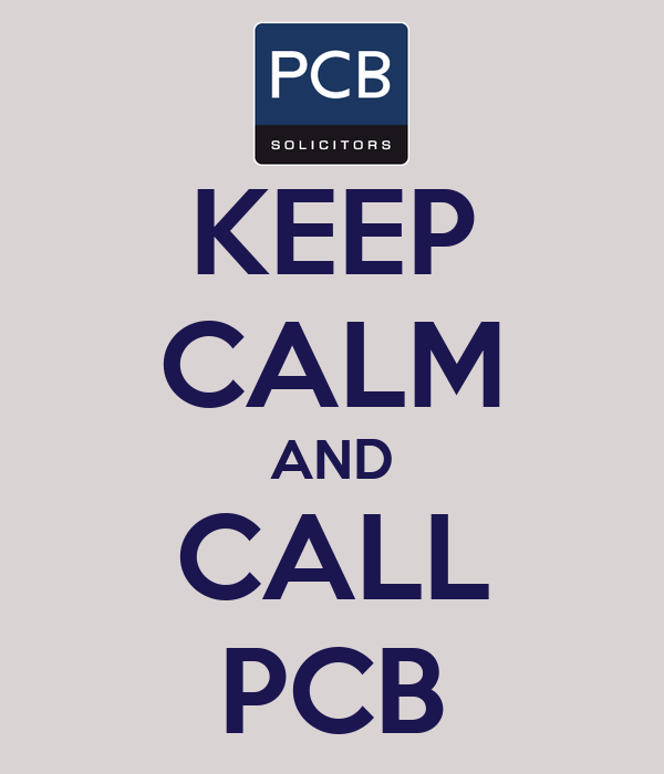 KEEP CALM AND CALL PCB
