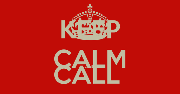 KEEP CALM AND CALL  PROMUS