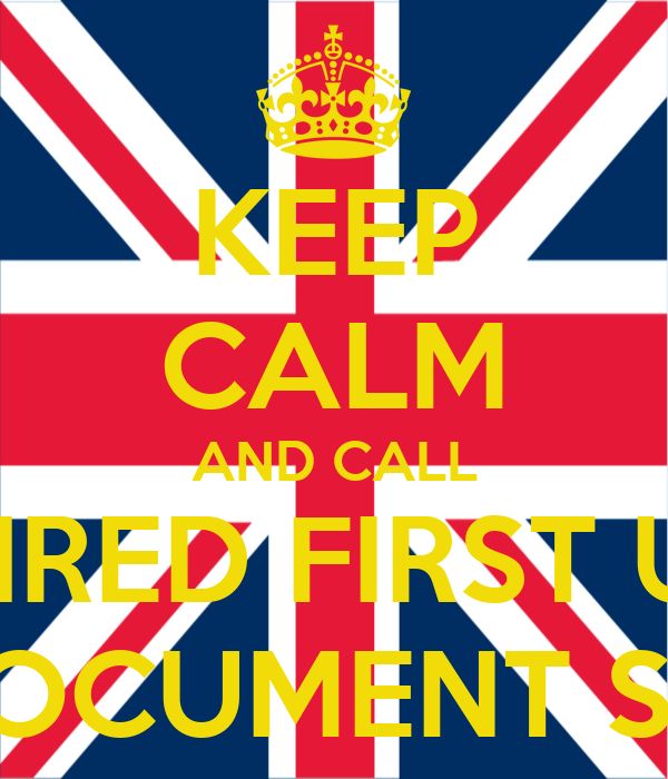 KEEP CALM AND CALL SHRED FIRST UK ON-SITE DOCUMENT SHREDDING