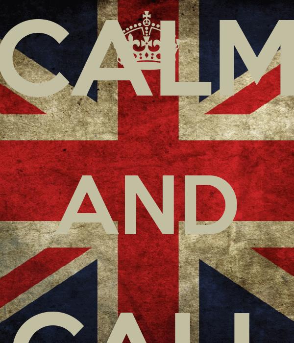KEEP CALM AND CALL VITIN