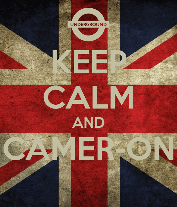 KEEP CALM AND CAMER-ON
