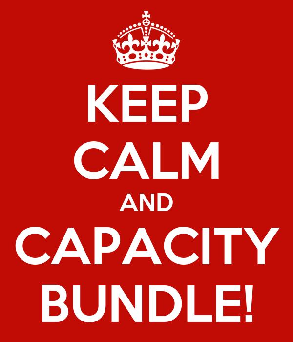 KEEP CALM AND CAPACITY BUNDLE!