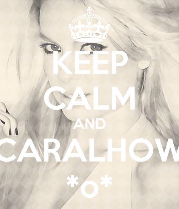 KEEP CALM AND CARALHOW *o*