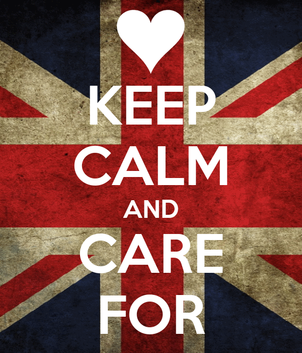KEEP CALM AND CARE FOR