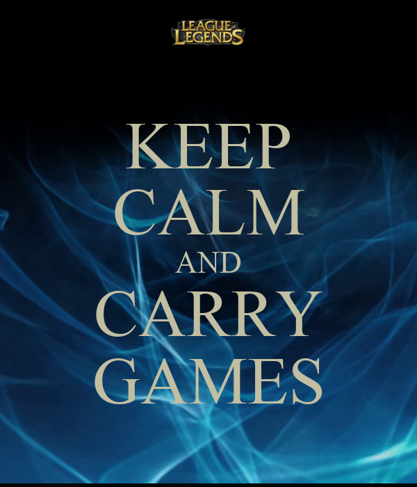 KEEP CALM AND CARRY GAMES