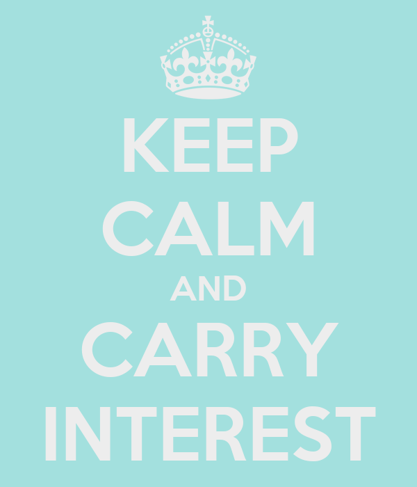 KEEP CALM AND CARRY INTEREST