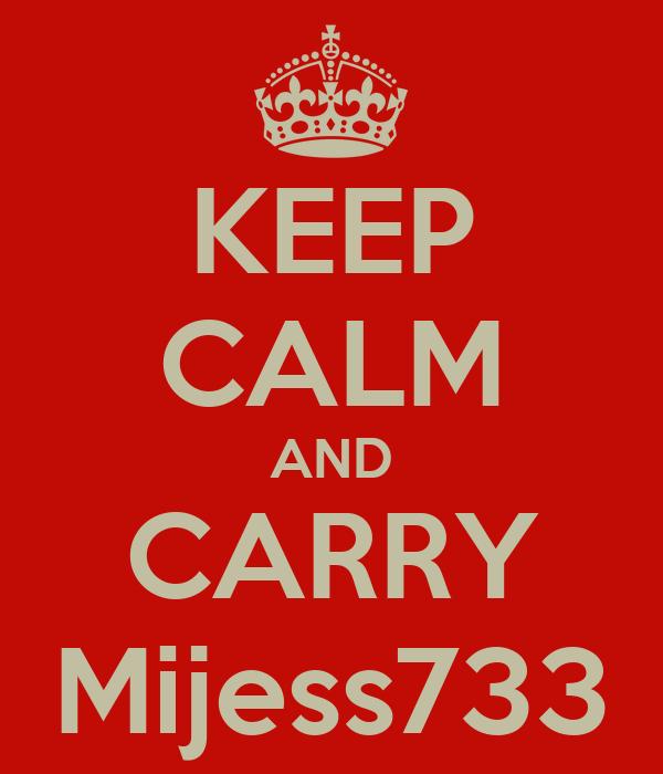 KEEP CALM AND CARRY Mijess733