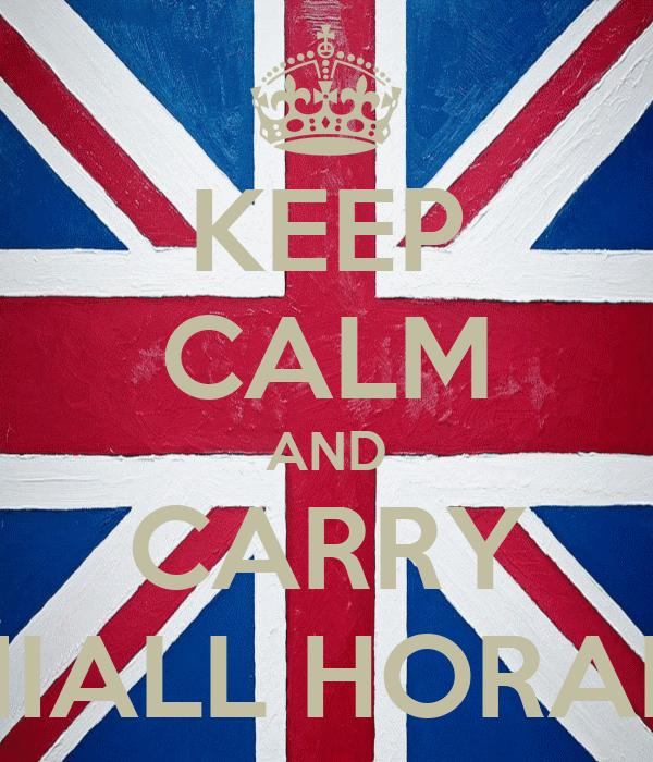 KEEP CALM AND CARRY NIALL HORAN