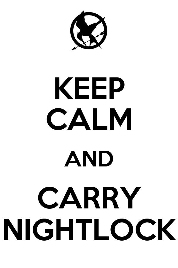 KEEP CALM AND CARRY NIGHTLOCK