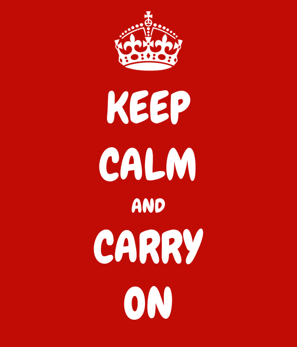 keep calm and carry on poster jerry keep calm o matic. Black Bedroom Furniture Sets. Home Design Ideas