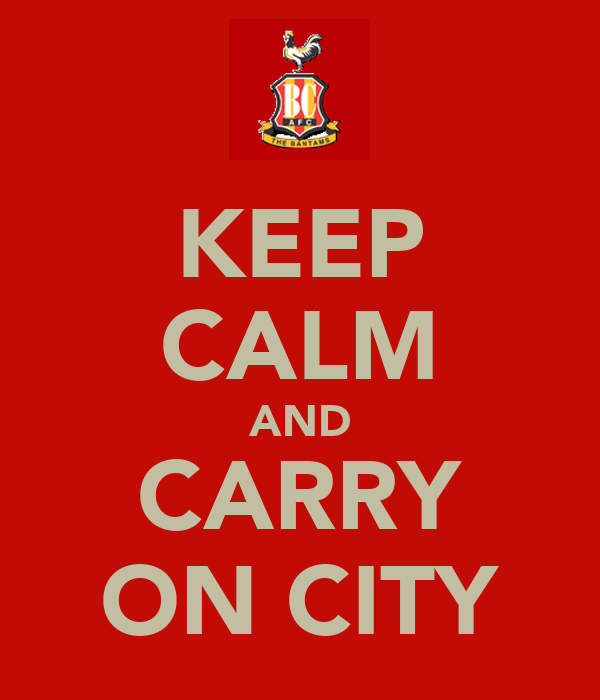 KEEP CALM AND CARRY ON CITY