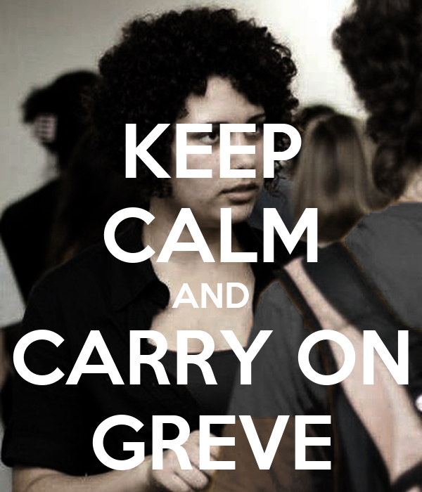 KEEP CALM AND CARRY ON GREVE