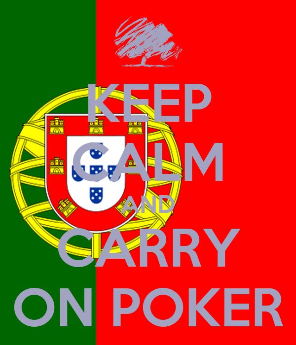 KEEP CALM AND CARRY ON POKER