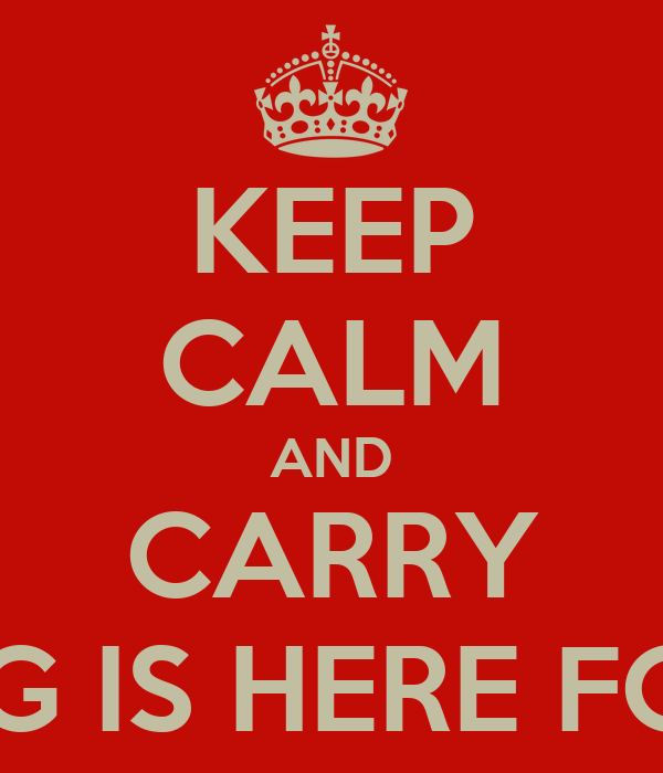 KEEP CALM AND CARRY ON SAFFY G IS HERE FOR AMAANI