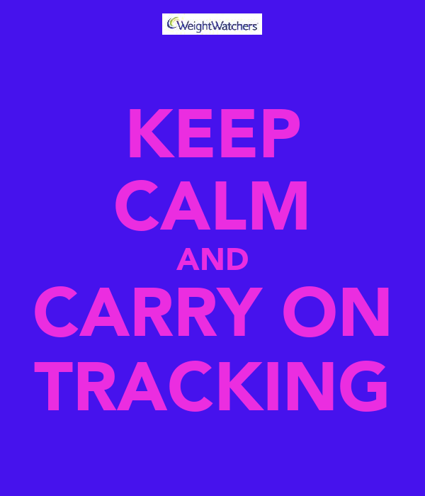 KEEP CALM AND CARRY ON TRACKING