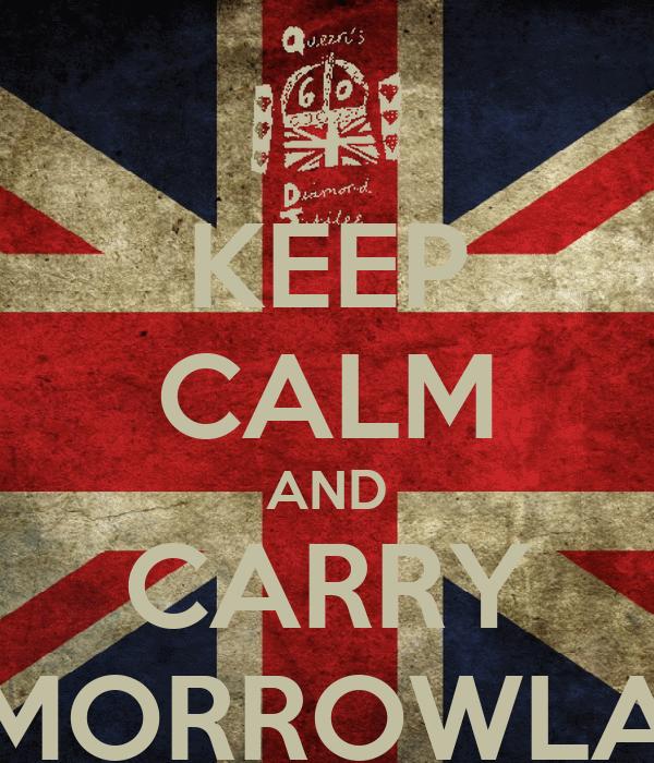 KEEP CALM AND CARRY TOMORROWLAND