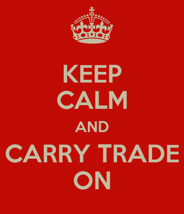 KEEP CALM AND CARRY TRADE ON