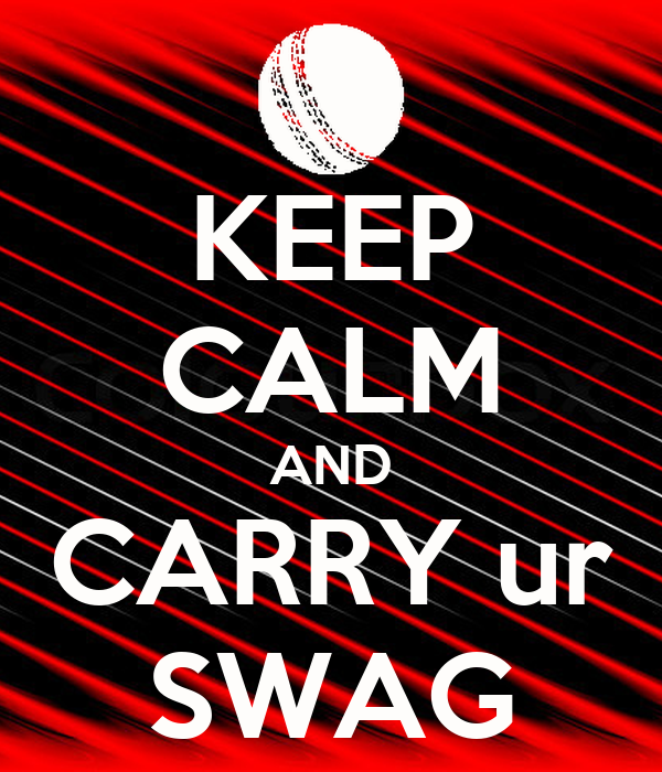 KEEP CALM AND CARRY ur SWAG