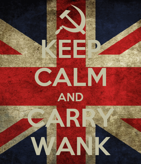 KEEP CALM AND CARRY WANK