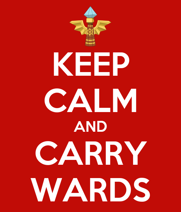 KEEP CALM AND CARRY WARDS