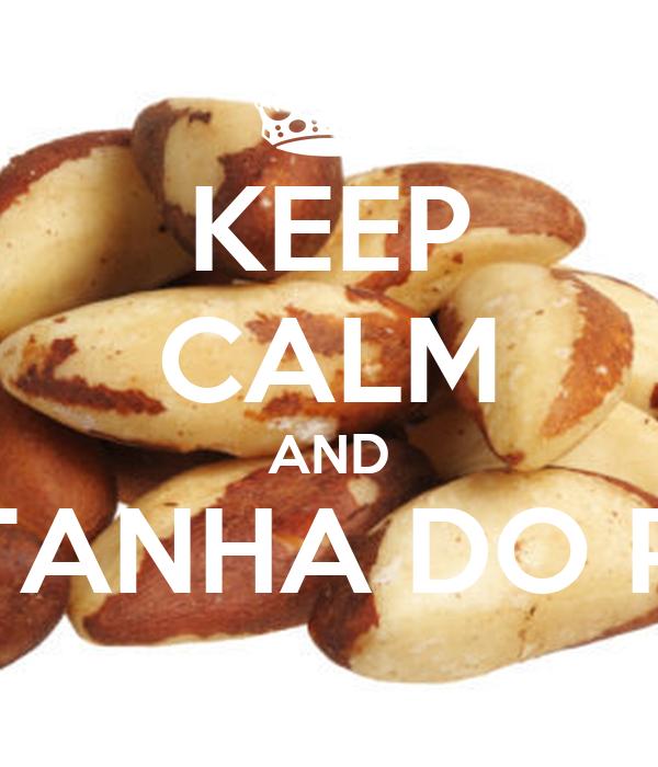 KEEP CALM AND CASTANHA DO PARÁ