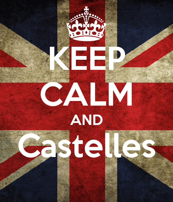 KEEP CALM AND Castelles