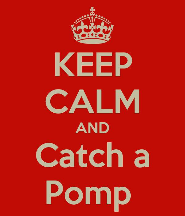 KEEP CALM AND Catch a Pomp